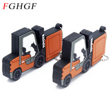 FGHGF wholesale nimi truck toy usb flash drive car pen drive 16gb 32 gb pendrive 8GB Free shipping Toy vehicles usb creativo