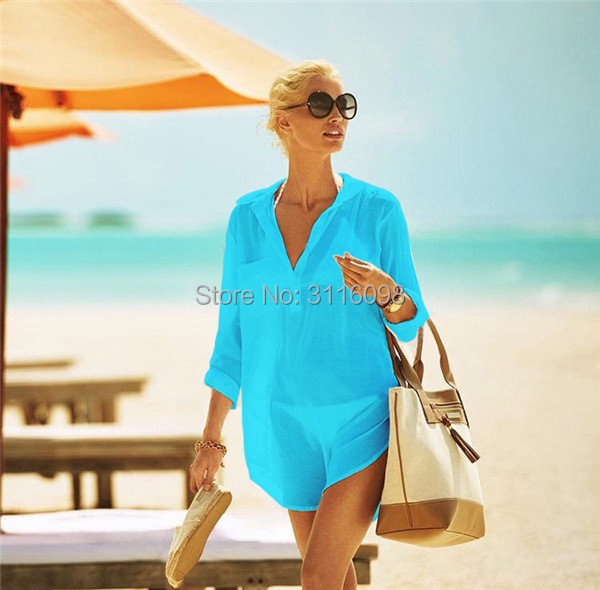 beach dresses bikini cover up603
