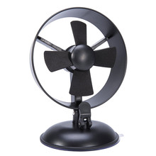 Portable Suction Cup MINI Fan Desk High Air Flow USB Fan USB Table 4 Blades Fan Cooler Adjustable Head Ultra Quiet Cooling Fan(China)