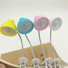 Leedome Portable Night Led Light Flexible Extender Lights With Clip Read Lamp For Travel Camping Lamp In Yellow Blue Pink White
