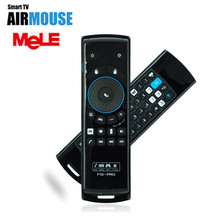 MeLE F10 Pro 2.4GHz Wireless Keyboard Air Mouse Remote Control Gyro Earphone MIC peaker for Laptop Android Tablet PC TV Box