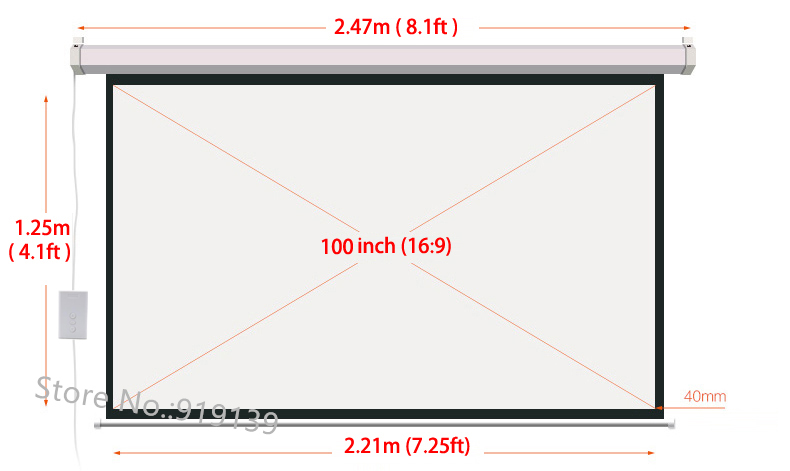 100 inch electric screen pic 27