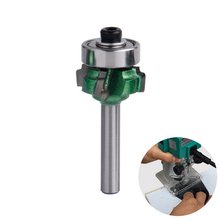 Woodworking Milling Cutter 1/4*R1 Trimming Knife Edge Trimmer 4 Teeth Wood Router Bit 1pc(China)
