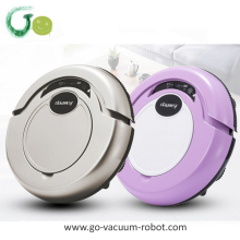 Household cordless robot vacuum cleaner quiet intelligent vacuum hoover cleaning device for home,hotel,carpet(China)