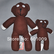"Free Shipping EMS 100/Lot Mr Bean Teddy Bear Plush Soft Doll Toy 9"" Wholesale and Retail(China)"