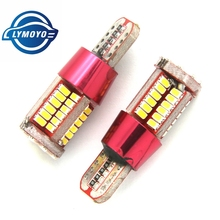 2pcs T10 led 2825 w5w canbus super bright 57smd led lamp NO Error Car marker Auto Wedge  Clearance Lights bulb parking lamps 12V