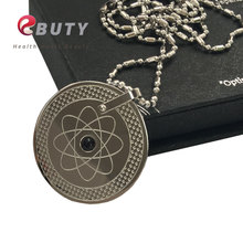 New Earth Design Quantum Scalar Energy Pendants with Far Infrared/ Negative Ion /Germanium Stones Free Drop Shipping(China)