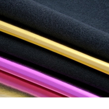 shiny fabric/ for belt, handbag shoes 0.8mm thick Foiled mirror synthetic leather/ imitation leather/ furniture material