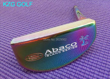 KZG GOLF RIFE Abaco ISLAND SERIES CNC milled golf putter head special colourful(China)