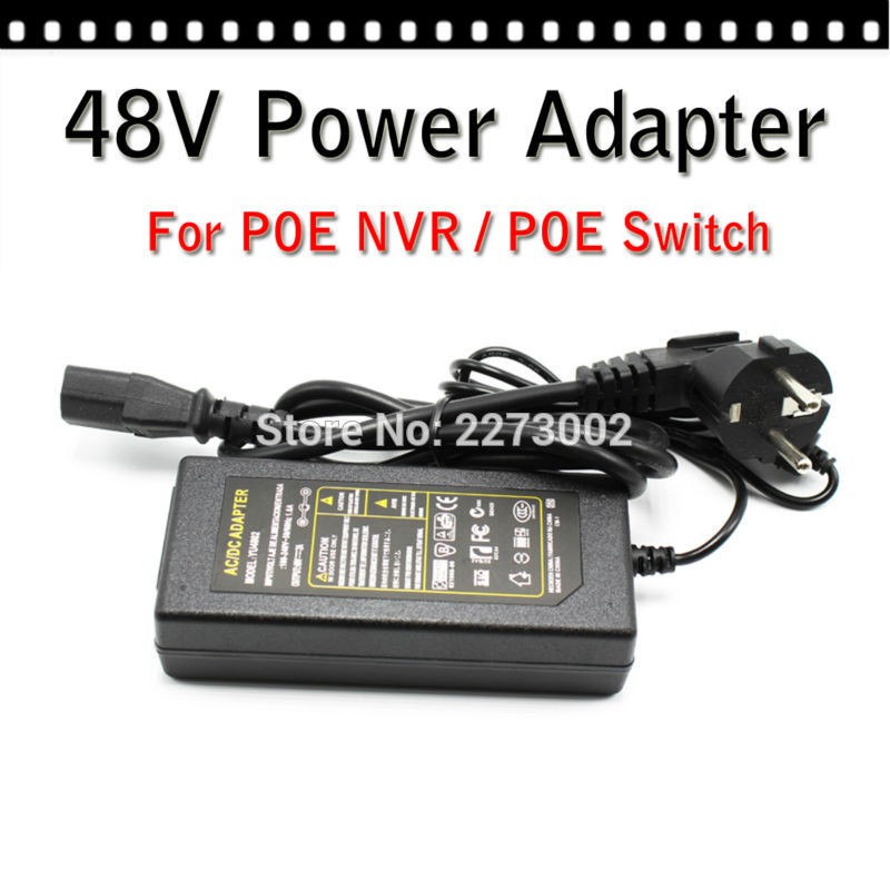 AC to DC 48V 3A High Quality Voltage Converter Switching Power Supply for poe switch poe nvrcctv accessories<br>