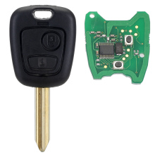 2 Button Remote Car Key Shell Case 433MHz REMOTE Car KEY WITH CHIP For Citroen Saxo Picasso Xsara Berlingo SX9 Free Shipping D25(China)