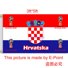 2018 Russia Football World Cup Croatia National Team 3ft*5ft (90*150cm) Size Decoration Flag Banner