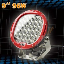 Eyourlife 9inch 96w led round spot light offroad 4X4 ATV SUV Truck Waterproof