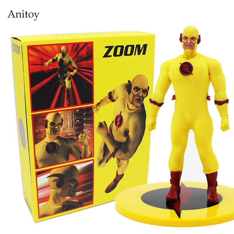 Super Hero The Flash ZOOM PX Previews Exclusive Flash 1/12 PVC Action Figure Collectible Model Toy 15.5cm KT4198<br>