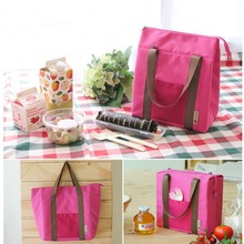 Portable Large Capacity Outdoor Travel Lunch Bag Insulation Box Picnic Totes Food Storage Bag Food Container Organizers