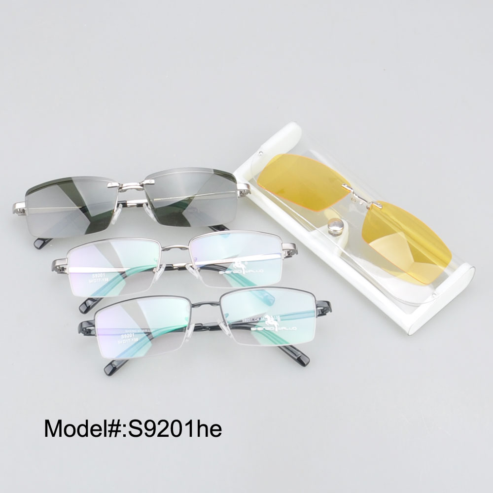 S9201 new style free shipping high quality  star clip on sunglasses with night vision clip on  UV400 sunshade<br><br>Aliexpress