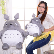 Hot Japan Anime Totoro Plush Toy Giant 65cm Cute Cartoon Stuffed Totoro Doll Kids Pillow Baby