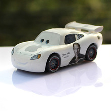 Disney Movie Pixar Cars Jackson Storm No.95 White Apple Lightning McQueen Diecast Metal Alloy Model Toy Car For Kids Best Gifts(China)