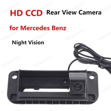best selling RCA NTST Trunk handle wireless Car Rear View Camera HD CCD Reverse Camera For Mercedes Benz