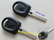 VW POLO BORA PASSAT transponder car key shell (HU66 blade) & chip key blank for VW car key fob