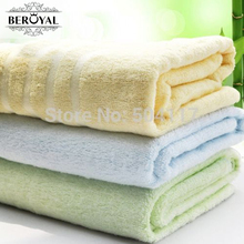 New 2017 Beroyal  Brand Towel Promotion-1PC 70*140CM Bamboo Fiber Beach Towel Adult Bath Towel Households Towels Bathroom080003