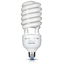 Neewer 45W 220V 5500K Tri-phosphor Spiral CFL Daylight Balanced Light Bulb in E27 Socket for Photoand Video Studio Lighting(China)
