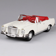 Maisto 1:18 MB 1967 280 SE Car model Retro Classic Car Diecast Model Car Toy New In Box Free Shipping 31811