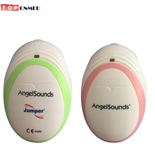 Angelsounds Fetal Doppler Ultrasound Fetal Heart Monitor, Earphone and USB cable New Package Gel Optional