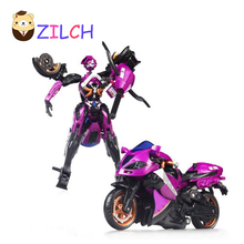 Motorcycle Model Doll Al West Carroll Robot Car Action toys Anime Plastic Toys Action Doll Boys Gift For Boy Toys(China)