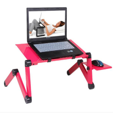 Laptop Desk 360 Degree Adjustable Folding Laptop Notebook PC Desk Table Stand Portable Bed Tray