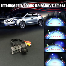 Car Intelligent Reversing Trajectory Tracks Rear View Camera For Lexus GX 470 GX470 / LX 470 LX470 (No Spare Wheel on back door)