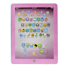 Educational Toy globo terrestre Child Touch Type Computer Tablet English Learning Study Machine Toy Kids Toy Free Shipping AP25