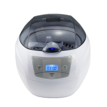 750ml Stainless Steel Tank Digital Ultrasonic Cleaner with LCD Display for Jewelry Watch Denture Glasses Cleaning Machine CE