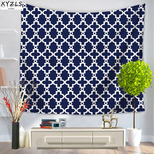 XYZLS Geometric Wall Tapestry 150*200cm Polyester Bedroom Decorative Tapestry Beach Towel Shawl Yoga Mat Sofa Cover 150*130cm(China)