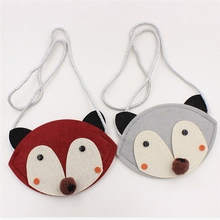 Cute Animal Shape Children Mini Bag Baby Cartoon Non-woven Handmade DIY Fabric Patches Kids Girl Small Bag RD838739