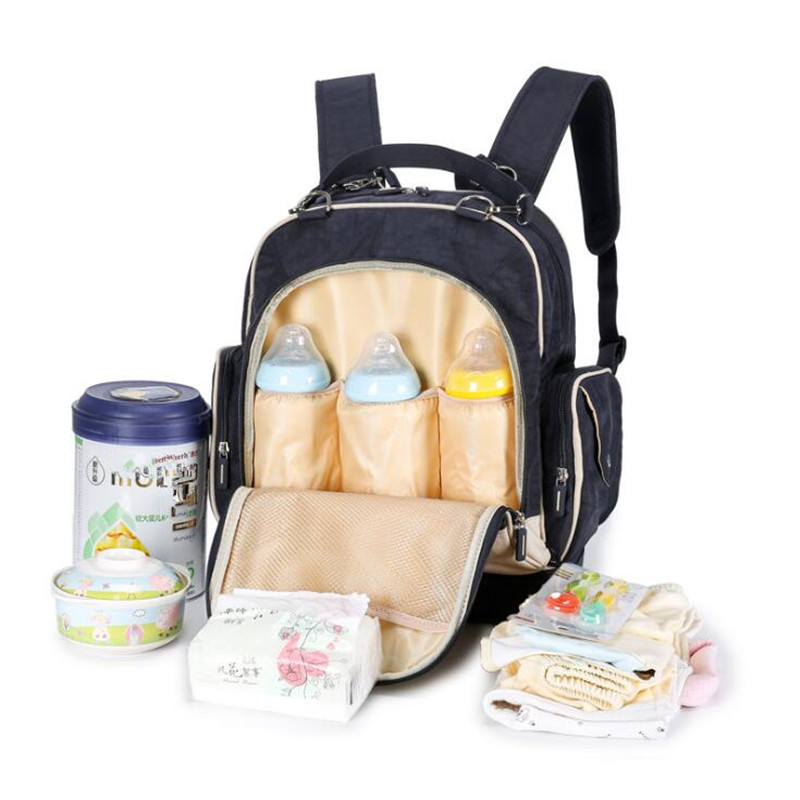 2017 SUMMER Baby diaper Backpack Travel Fashion baby bag Multifunction Mummy Bag for stroller Large baby diaper bags Nappy Bags <br>