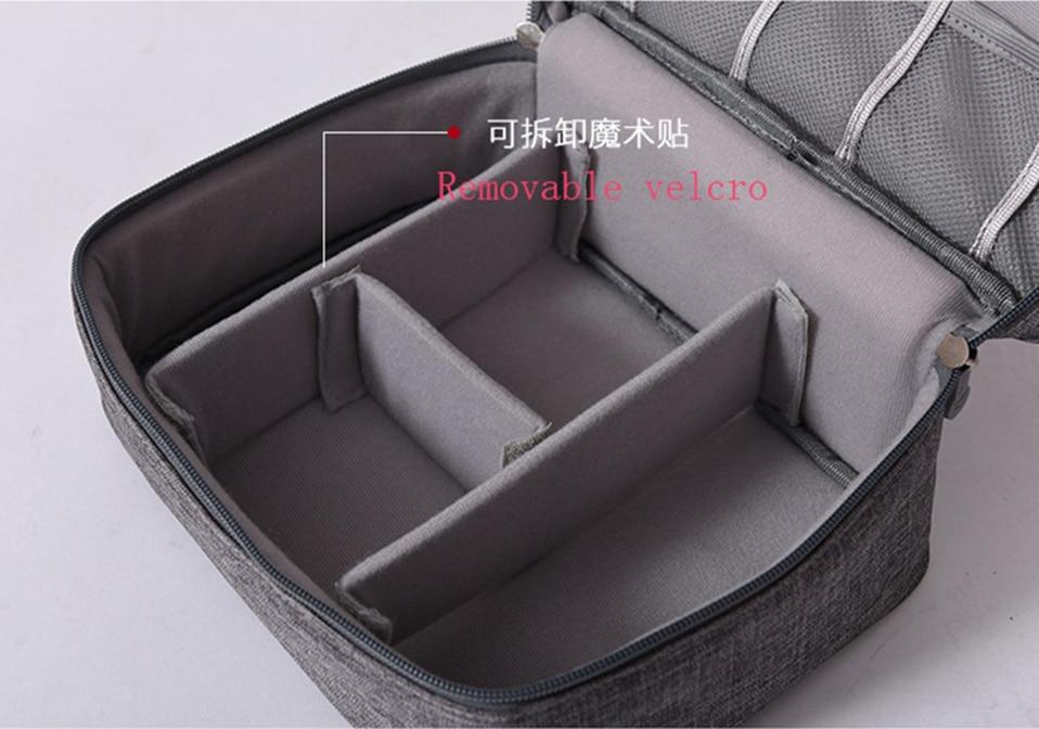 Travel Organizador Portable Digital Accessories Gadget Devices Organizer USB Cable Charger Tote Case Storage Bag Hot Sale (7)