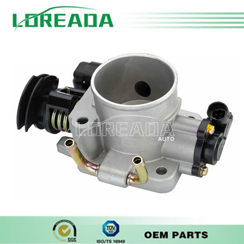 100% Testing new Orignial Throttle body  for Chery Tiggo 4G63 DELPHI system  Bore Size 55mmThrottle valve assembly<br><br>Aliexpress