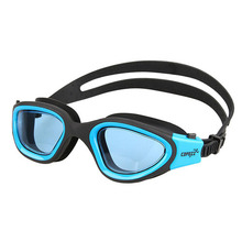 Copozz GOG-3720 Men Women Anti Fog UV Protector Swimming Goggles Professional Waterproof Summer Beach Dive Swim Glass Plain blue(China)