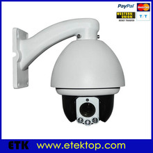 "CCTV Security Video IR PTZ 4"" 1/3 SONY CCD 650tvl Mini High Speed Analog Dome Camera"