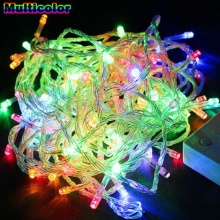 10M 100 LED Strip Christmas Fairy String Lights Waterproof 8 Modes Energy Saving Design Christmas tree or Halloween Illumination(China)