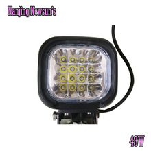 48W LED Working Light Lamp 4x4 Truck Boat Deck Light Fog Work Lamp Off Road ATV 4WD Spot 12/24V cree chips led driving worklight