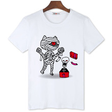 BGtomato cheap sale lovely cartoon skull t shirts men's original brand 100% good quality comfortable cool summer shirts(China)