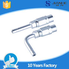 Buy JIANHE lubrication 90 degree oil pipe connector/ lubrication fittings centralized lubrication system/CNC