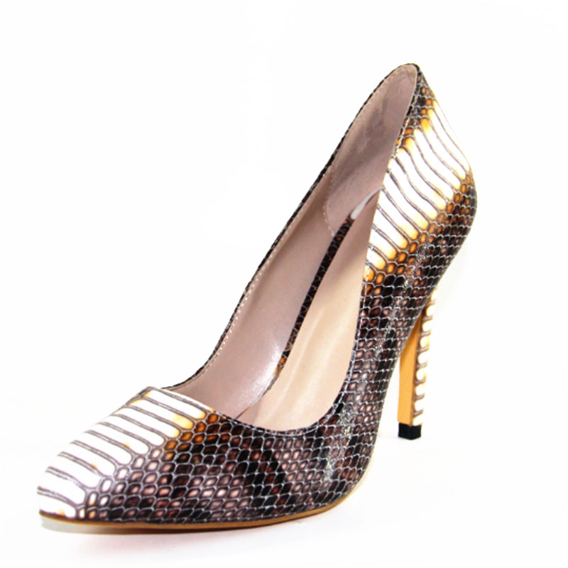 New Popular Women Pumps Fashion Pointed Toe Thin Heels Pumps High-quality Multicolors Colors Shoes Woman US Size 4-10.5<br><br>Aliexpress