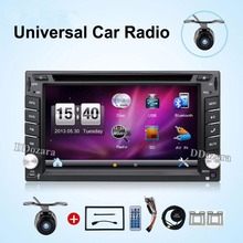 2din universal Car Radio  2 din Car DVD Player GPS Navigation In dash Car PC Stereo video tape recorder radio