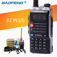 8W High Power 4800mAh Li-ion Battery LEG Lighting New Baofeng Dual Band Two Way Radio BF-UVB2 Plus Walkie Talkie UVB2(China)