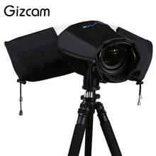 Gizcam Digital Camera Rain Cover Rainwear Dustproof SLR Camera Protector Rain Coat Cover Lens High Quality Waterproof(China)