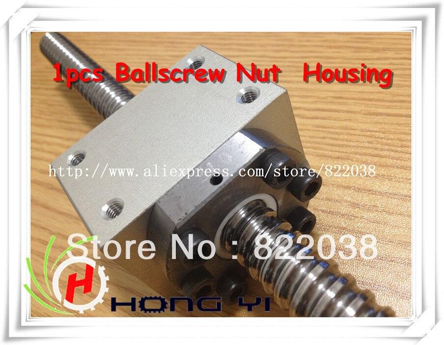 1pcs Ballscrew Nut Housing Bracket Holder For SFU1604 &amp; SFU1605(RM1605) &amp; SFU1610  (Only Ballscrew Nut  Housing )<br>