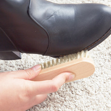 Beech soft - brushed leather shoes brush cleaning shoe brush shoes oiling shoe polish brush